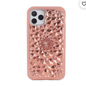 Felony bronzy gold kaleidoscope iPhone 11 Pro case